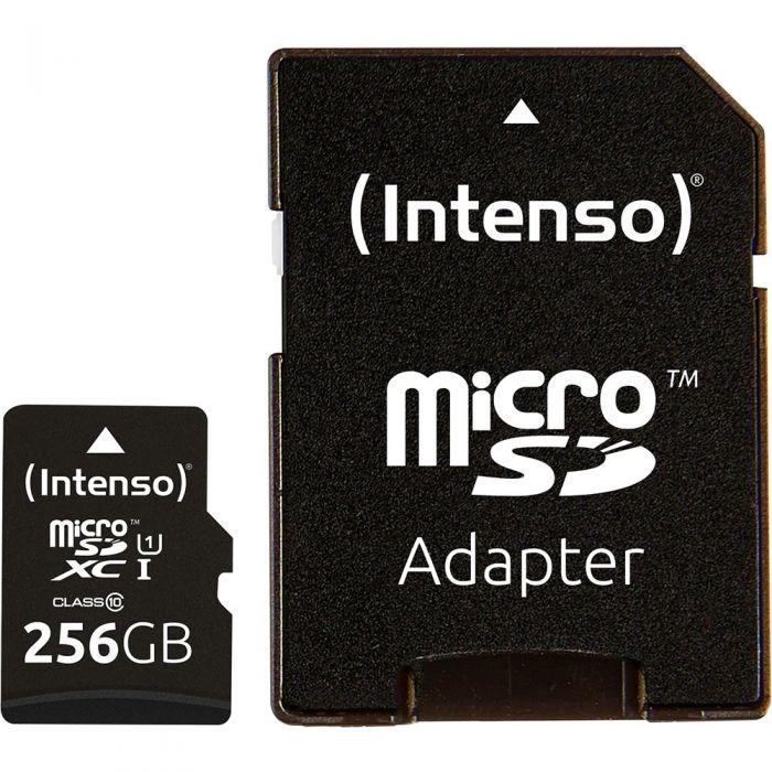 Карта памяти Intenso Micro SD Card UHS-I 256GB SDXC