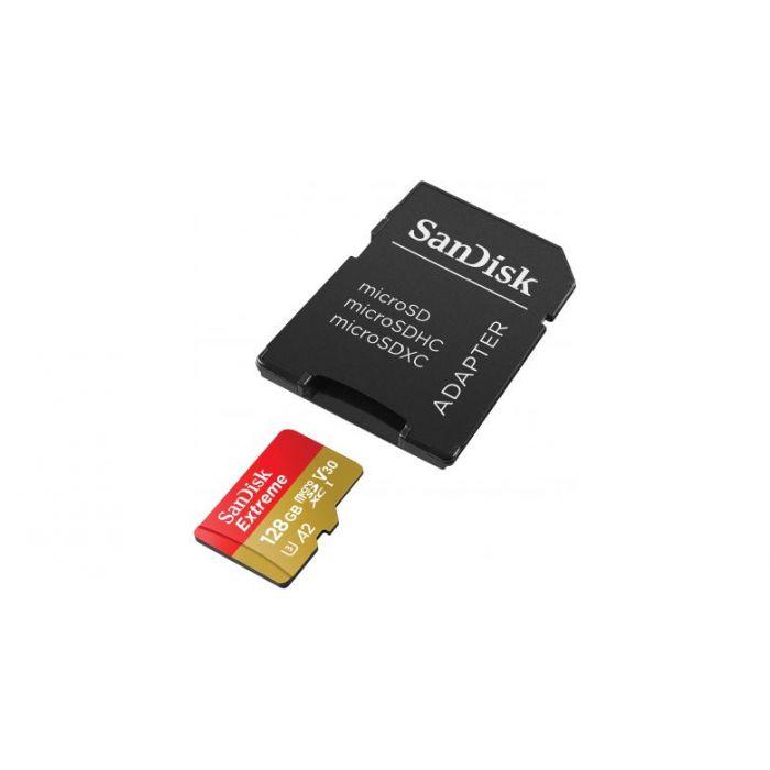 Карта памяти SanDisk 128GB Miсro-SDXC class 10 V30 UHS-I   SD-адаптер