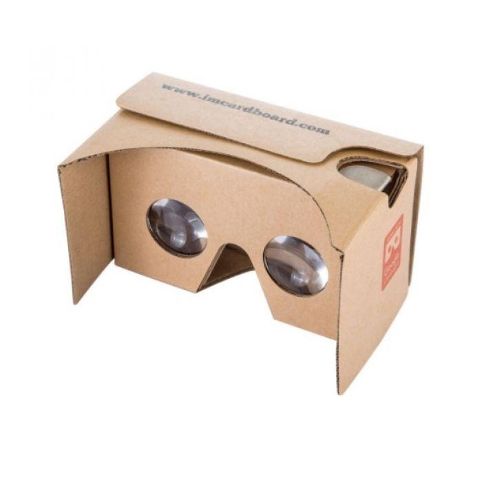 Очки виртуальной реальности IAC V2 Cardboard VR kit в корпусе из картона