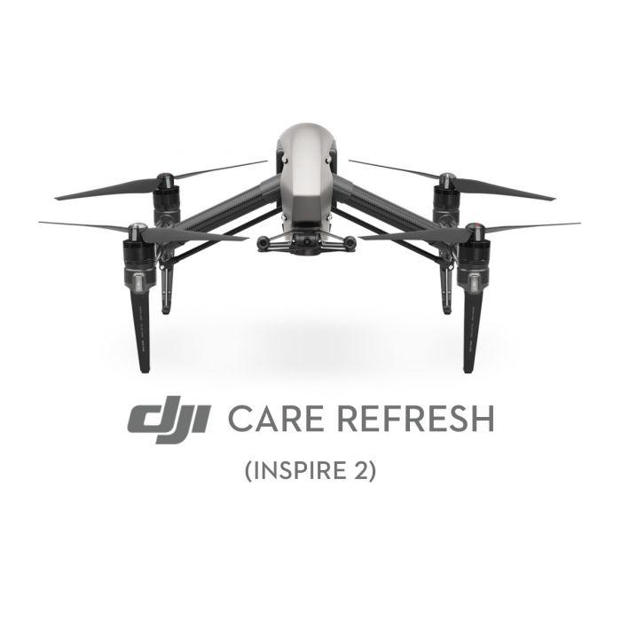 Первая замена DJI Care Refresh (Inspire 2)
