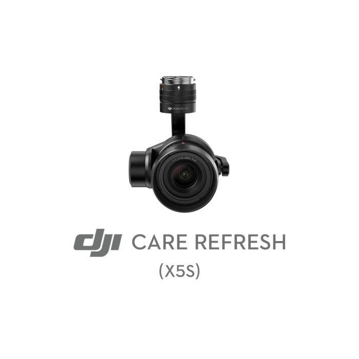 Первая замена DJI Care Refresh (Zenmuse X5S)