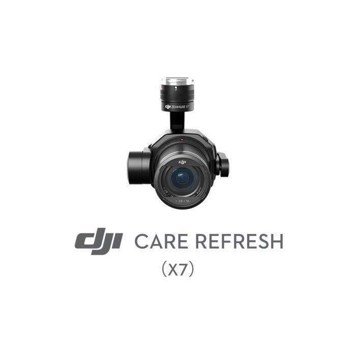 Первая замена DJI Care Refresh (Zenmuse X7)