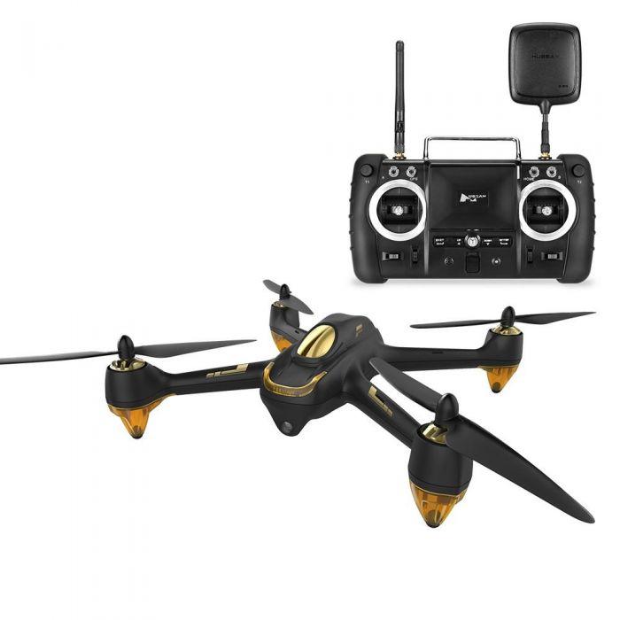 Квадрокоптер Hubsan H501S Pro (чорний) - GPS, FPV, HD Camera