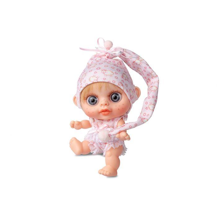 Кукла пупс Berjuan БЭБИ БИГГЕРС с запахом ванили 14 см (RUBIO)