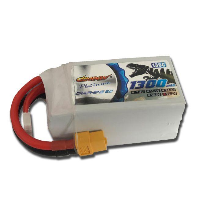 Аккумулятор Dinogy PLATINUM G2.0 Li-Pol 1600mAh 22.2V 6S 130C XT60