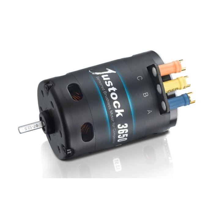 Сенсорный мотор HOBBYWING XERUN JUSTOCK 3650 10.5T 3500KV для автомоделей