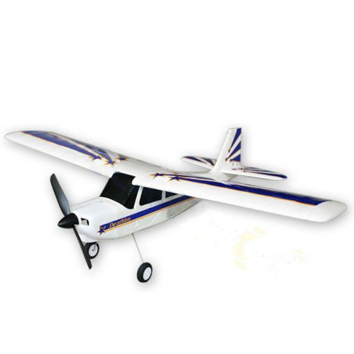 Авиамодель на радиоуправлении самолёта VolantexRC Decathlon (TW-765-1) 750мм RTF