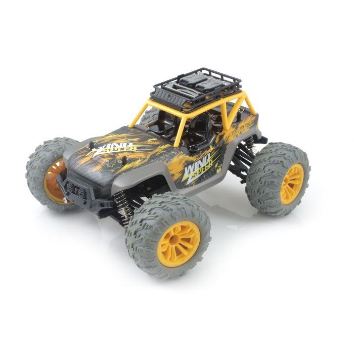 Машинка на радиоуправлении 1:12 UJ Pioneer 4WD (желтый)