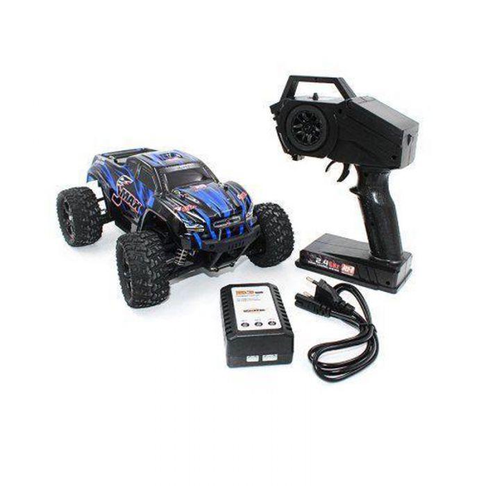 Радіокерований МОНСТР вологозахищений Smax Remo Hobby 1635 1/16 БК двигун  (синій)