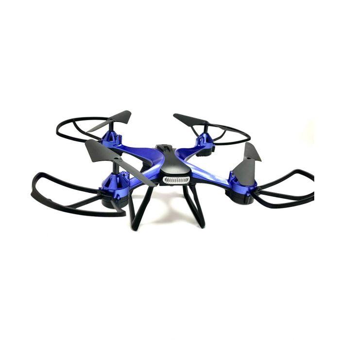 Квадрокоптер 801 - до 13 хв., до 100 м., з барометром і гіроскопом (синій)