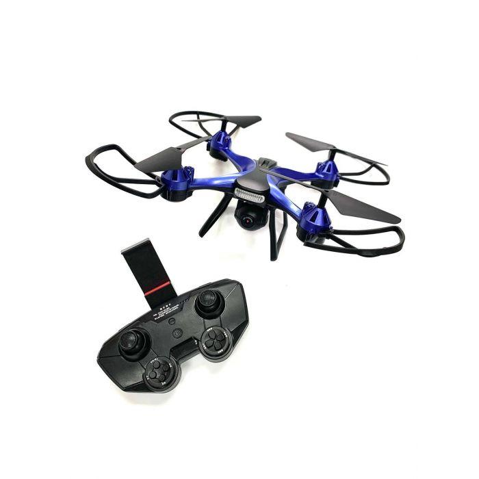 Квадрокоптер 801 W з FPV HD камерою, до 13 хв., до 100 м., з барометром і гіроскопом (синій)