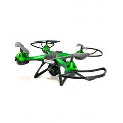Квадрокоптер 801 W з FPV HD камерою, до 13 хв., до 100 м., з барометром і гіроскопом (зелений)
