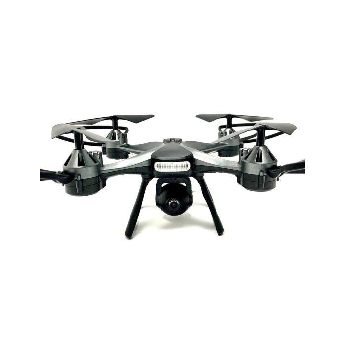 Квадрокоптер 801 W з FPV HD камерою, до 13 хв., до 100 м., з барометром і гіроскопом (сірий)