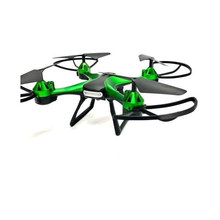 Квадрокоптер 801 - до 13 хв., до 100 м., з барометром і гіроскопом (зеленый)