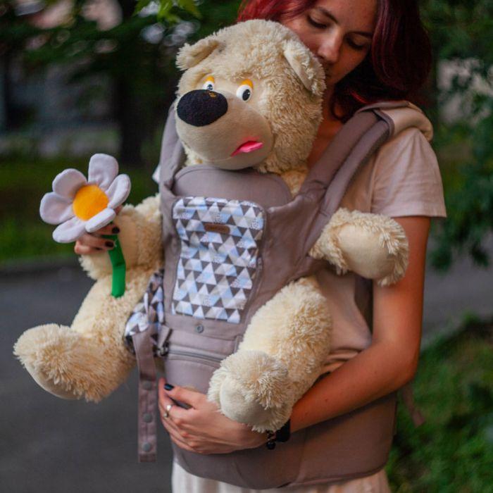 Эргономичный рюкзак, Хипсит Aiebao для переноски детей 2 в 1
