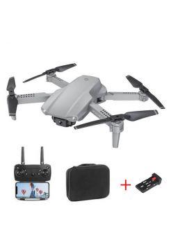 Квадрокоптер E99 Pro 2Grey – дрон з 4K і HD FPV Wifi камерами, додатковий акумулятор, 20+20 хв + кейс