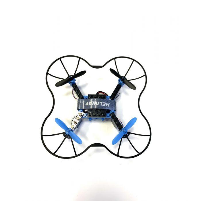 Квадрокоптер конструктор HELIWAY 902S з FPV камерою 480p, до 60 м польоту (голубий)