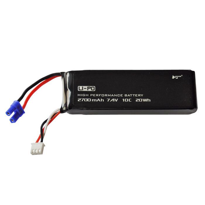 Акумулятор Hubsan X4 H501S / H501C / H501A / H501M, 2700 mah, LiPo, 7.4 V