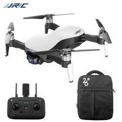 Квадрокоптер JJRC X12 AURORA, дрон з 4К камерою, 3-х осьовою стабілізацією камери, подвійний модулем GPS, час польоту до 25 хвилин + сумка