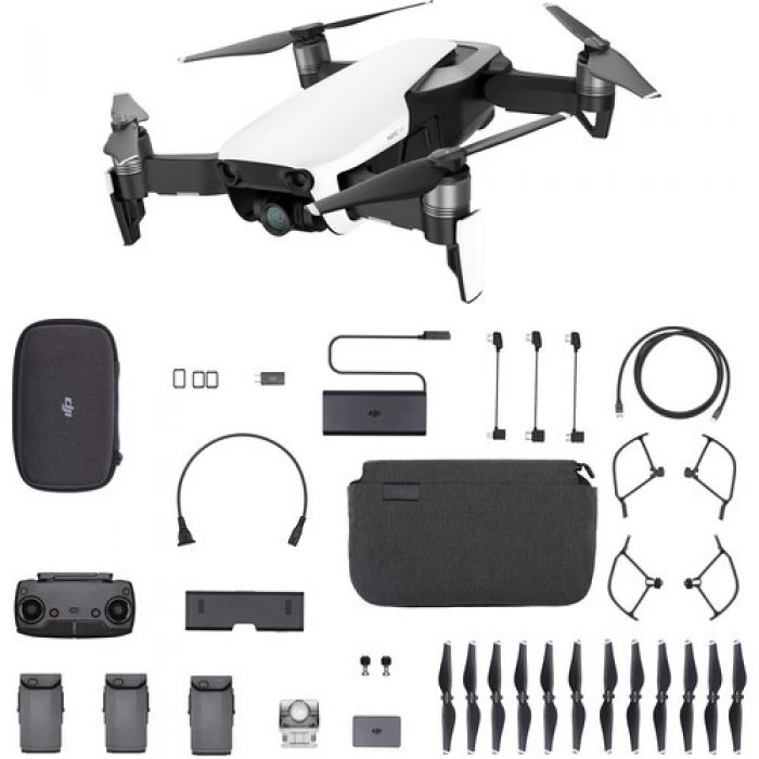 Квадрокоптер DJI Mavic Air Fly More Combo (Flame White)