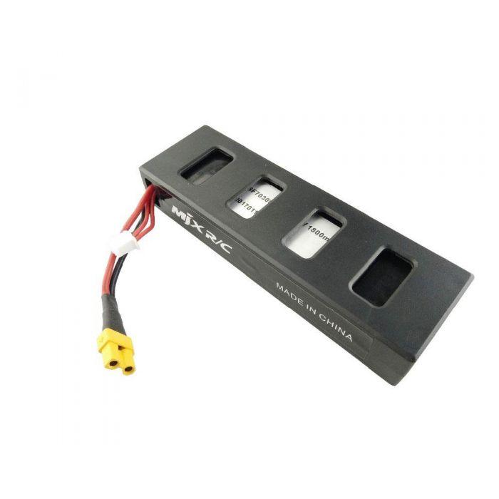 Акумулятор MJX Bugs 3 / Eachine EX2H 1800 mah, 7.4 V, 25С