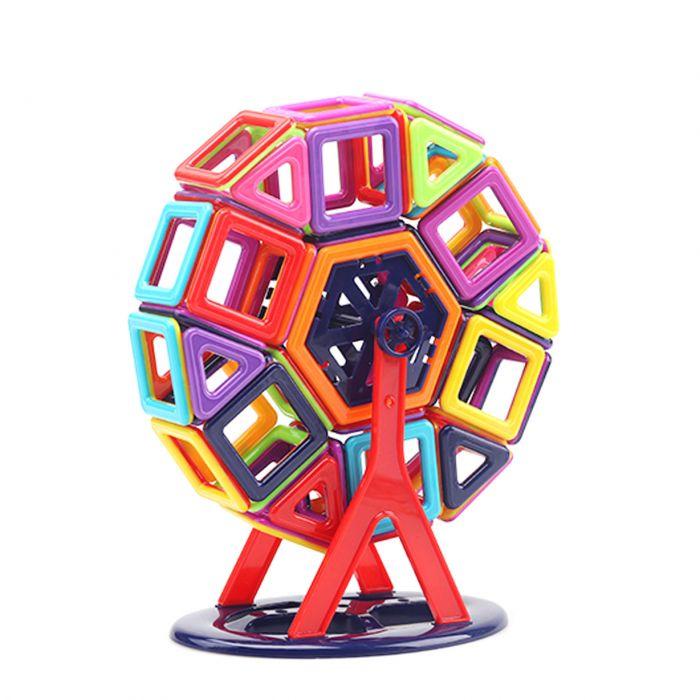 Магнітний конструктор для дітей 86 деталей.  Безкоштовна доставка!