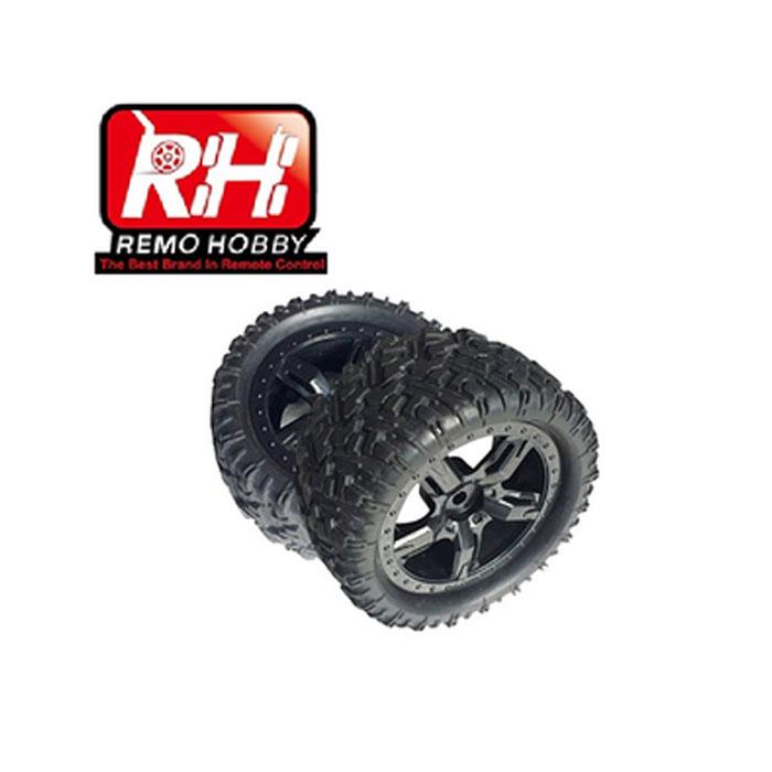 Колеса Mmax Remo Hobby 1/10 артикул P1953 (HEX 12mm / 2 шт./размеры 117x54мм)