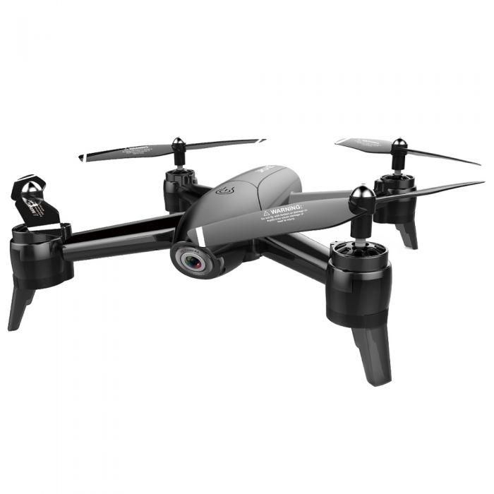 Квадрокоптер Visuo SG106 з двома камерами, оптичним утриманням позиції, до 22 хв. польоту (чорний)