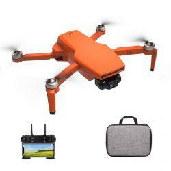 Квадрокоптер ZLRC SG108 Pro − 4K і HD FPV камери, 2-х ос. підвіс, GPS, 1,2 км, 25 хв + кейс (Orange)
