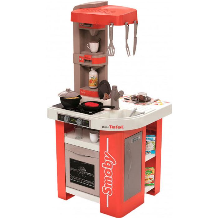 Інтерактивна кухня Smoby Toys Тефаль Студіо Френч з аксесуарами та звуковим ефектом (Червона) 311042