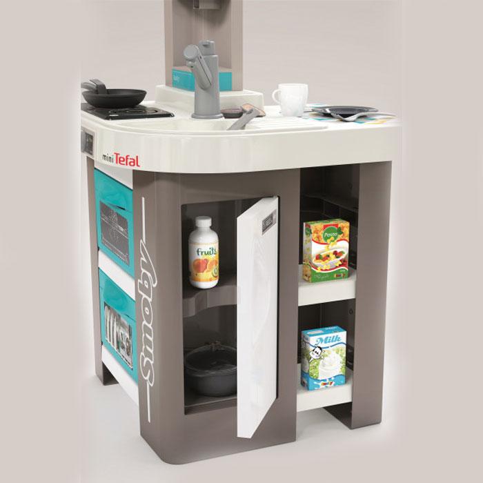 Інтерактивна кухня Smoby Toys Тефаль Студіо Френч з аксесуарами, ефектом кипіння та звуками 311043