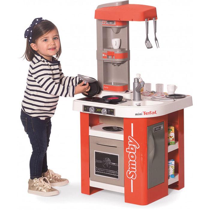 Интерактивная кухня Smoby Toys Тефаль Студио Френч с аксессуарами и звуковым эффектом