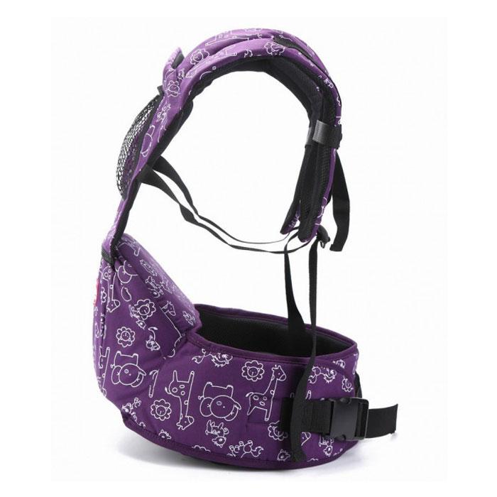 Ерго рюкзак 3 в 1 AIBAO фіолетовий (ерго рюкзак + кенгуру + хіпсіт)