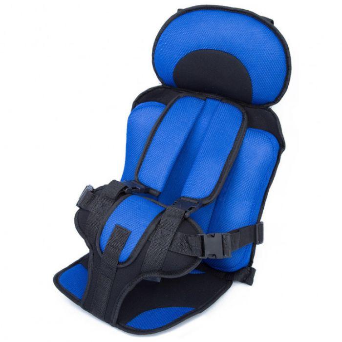 Автокресло детское Бескаркасное до 36 кг (Синий)