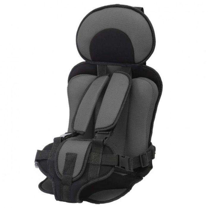 Автокресло детское Бескаркасное до 36 кг ( Серый)
