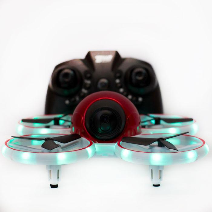 Квадрокоптер Dowellin D10 W, з камерою 1080p, протиударний, яскрава підсвітка до 11 хв. час польоту
