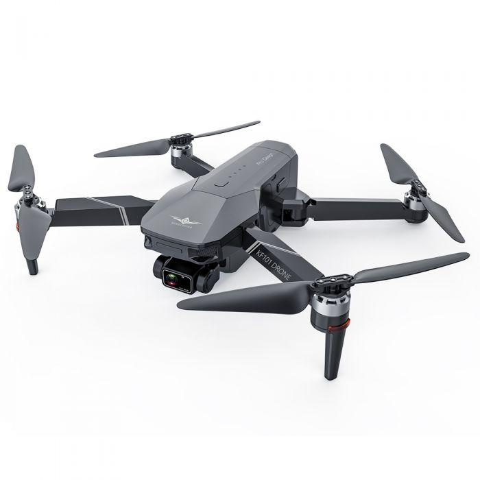 Квадрокоптер КF101 / Zen K3 − 4K FPV камера, 3-ос. підвіс, GPS, до 1,2 км, до 25 хв. + кейс