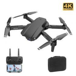 Квадрокоптер E99 Pro 2 Black – дрон з 4K і HD FPV Wifi камерами, оптичним позиціонуванням, до 20 хв + кейс