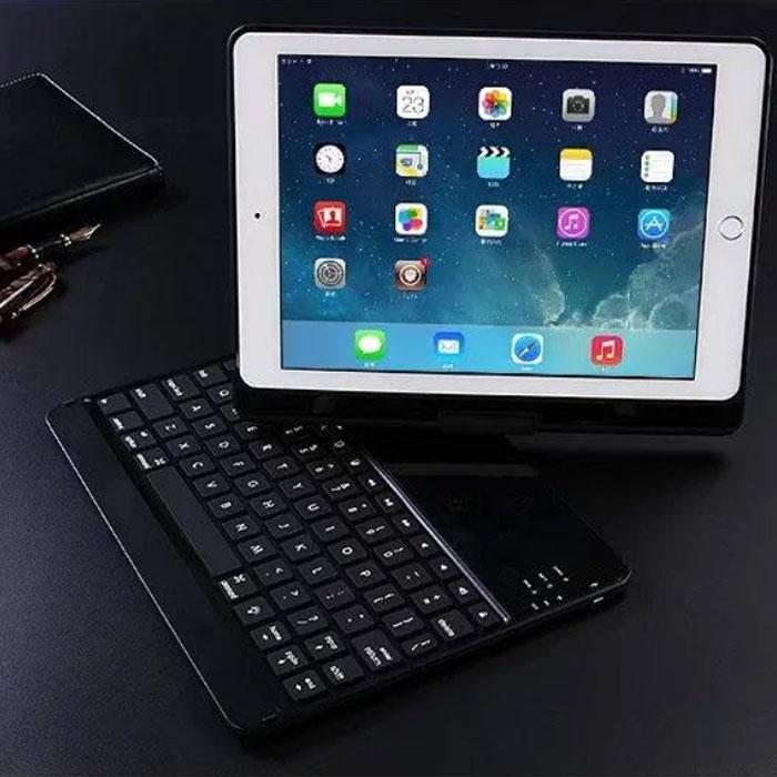 Клавіатура-чохол для iPad з підсвіткою для iPad 6 / iPad 5 / iPadPro 9.7 / iPadAir 1 / iPadAir 2 (чорна)