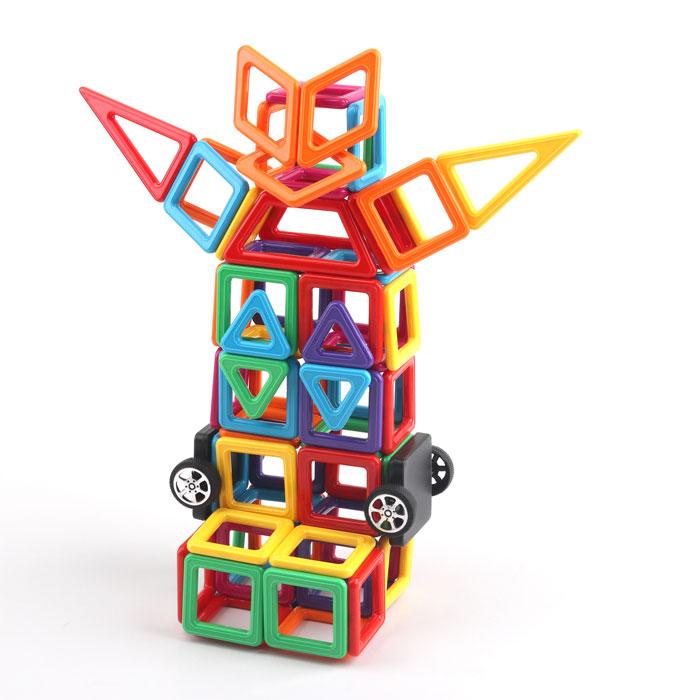 Магнітний конструктор для дітей 104 деталей. Найкраща ціна!