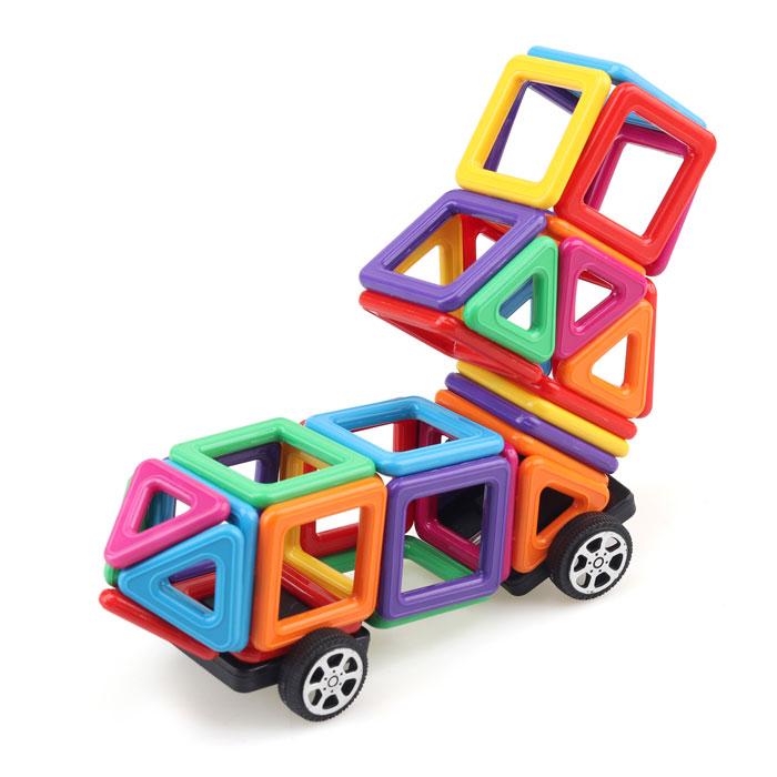 Магнітний конструктор для дітей. 64 деталей. Найкраща ціна!