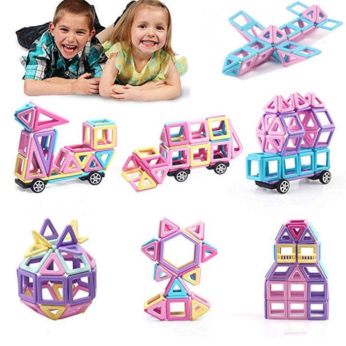 Магнітний конструктор для дітей 144  деталей. Найкраща ціна!