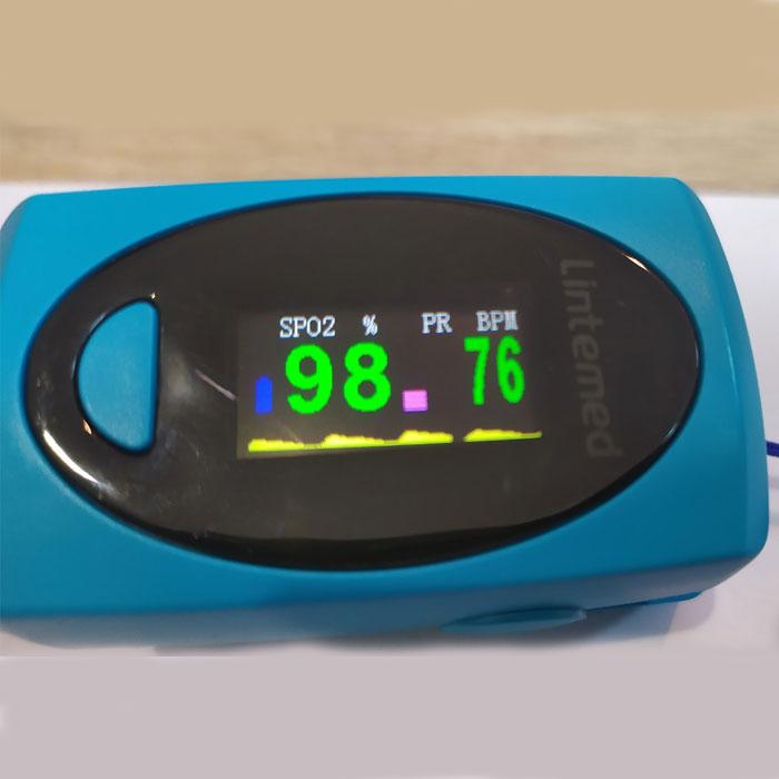 Пульсоксіметр пульсометр на палець Pulce Oximeter Kronos