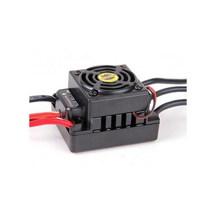 Влагозащищенный регулятор скоростиRemo Hobby для бесколлекторных двигателей автомоделей Mmax 1/10E9573