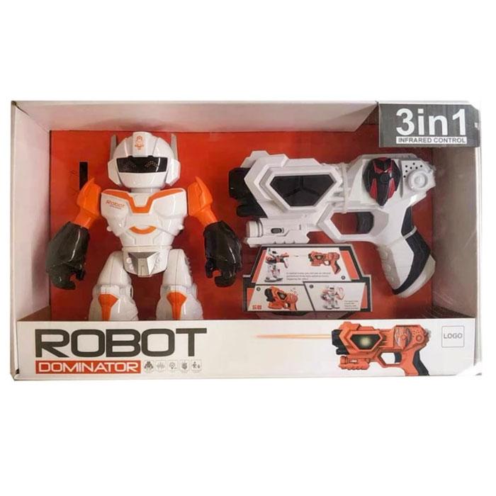 Інтерактивний Робот  Домінатор,  гра - стрілялка з вогнями та звуками