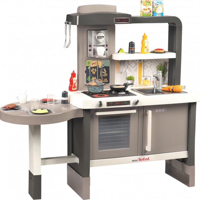 Інтерактивна кухня Smoby Toys Тефаль Еволюшн з аксесуарами, ефектом кипіння і звуками 312300
