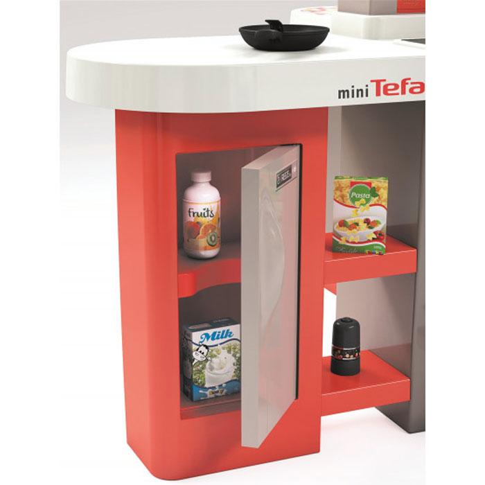 Интерактивная кухня Smoby Toys Тефаль Студио Френч супер большая с аксессуарами, эффектом кипения и звуком