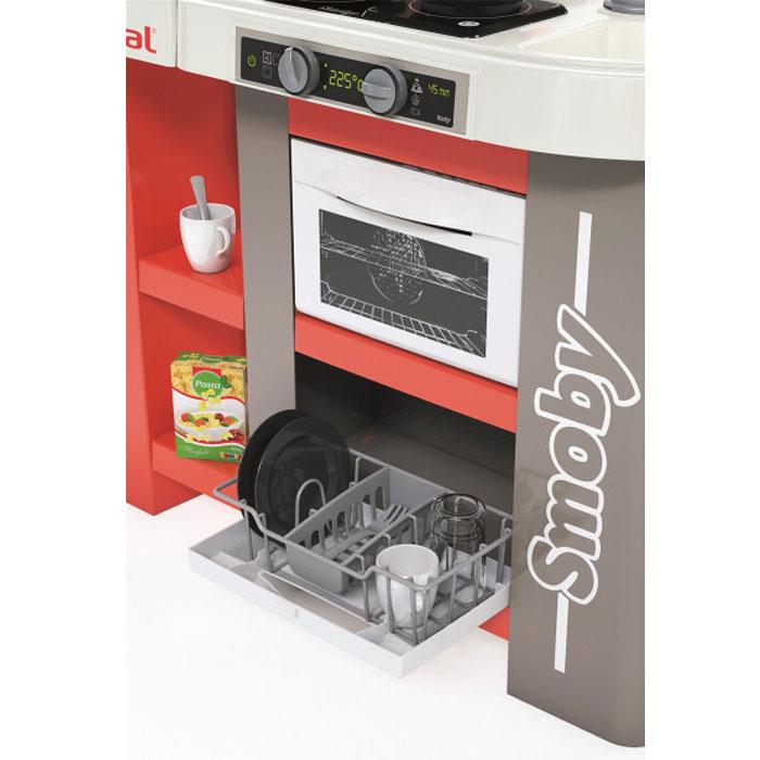 Інтерактивна кухня Smoby Toys Тефаль Студіо Френч супер велика з аксесуарами, ефектом кипіння та звуком 311046