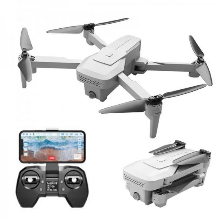 Квадрокоптер VISUO XS818, дві WiFi камерами 4К і HD, наявність GPS і FPV 5Ghr, до 15 хвилин час польоту
