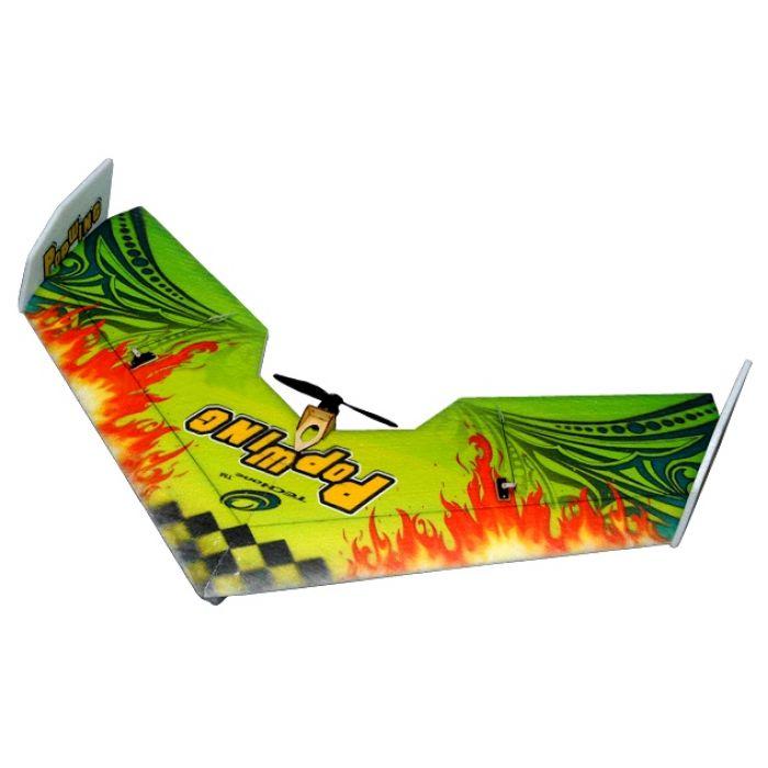 Летающее крыло Tech One Popwing 900мм EPP ARF (зеленый)